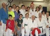 Judo workshop with Sensei Réjean Lavoie from Club de Judo Anjou - March 2014