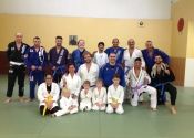 Promoted to blue belt in Arena BJJ by professor Marcelo, August 13, 2016