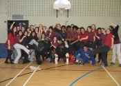 Cours de prévention d'agression, Marie Clarac - Mai 2010