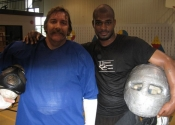 Fritz Jr. and Robert Lyne - personal safety instructors