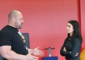 Hugo Gerard interviewed by Jessica for Avis de Recherche TV - 'Défense légitime'