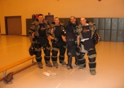 Canadian Armed Forces - assisting in a self-defence workshop