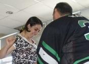 Sécurité des femmes au CRECA.