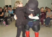George attacking WSD Beaconsfield Rec Centre Apr 29 2014