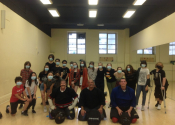 WE ARE BACK. Downtown Montreal, 'Hands-on' self-defence workshops for Secondary 1, 2 & 3 boys & girls. 65 participants attended our 3 NO 'Non-sense' personal safety workshops. June 21 & 22, 2021.