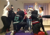 Womens self-defence workshop in Cote St. Luc.  February. 15 2015