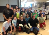 Adventures Day Camp - City of Dorval, July 2016. Personal safety workshop