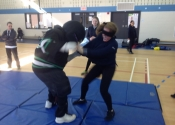 Marie Clarac 2017 - self defence course, April 2017