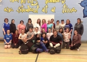 John Cabotto School. May, 2018 women's self défense workshop
