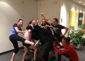 Private self-defence teen  home session. These girls were great. May, 2018