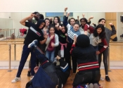 A girls empowerment/self-defence, attack simulation oriented session for the prevention Cote-Des-Neiges/NDG area. Powerful, eye-opening and thought provoking session for these girls and women. April 5, 2019.