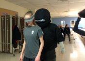 The simulated attacks are 'Crazy, real'. Collège Charlemagne (Montreal, West island), women's 'hands-on' self defence course given over 6 weeks as an after school activity. These girls were psyched and motivated to 'Do whatever it takes' to deal with the dangerous simulations they were confronted with. Hats off to all of them. They were an inspiration. May 1, 2019.