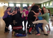 June 1st, 2019. Le Vieux Longueuil community center. Women's hands-on, self-defence workshop. Empowering, stimulating and attitude building. What an event for these ladies. Excellent work. We will be back in September