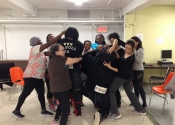 A 'hands-on' women's self-defence course for new arrivals to Canada. Oct. 2019