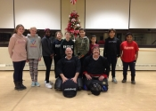 Teens 'hands-on' self-defence workshop. City of Dorval. Dec. 13, 2019.