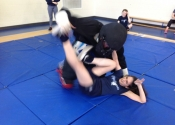 Marie Clarac, May 2017 Self defence ground fighting