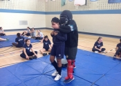Marie Clarac, women's self-defence course. Now what! May, 2018