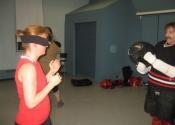 Robert & Mihaela blindfolded WSD Beaconsfield Rec Centre Apr 29 2014