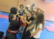 Villeray self-defense workshop in September 2017