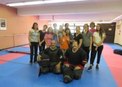 Villeray self-defense workshop in September 2017