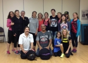 Wimgym mom and teen self-defence workshop. June 27, 2015