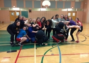 Women's self defence workshop - Pointe Claire, March 2016 crazy