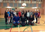 Women's self defence workshop - Pointe Claire, March 2016