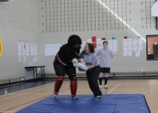 Assault prevention course at Marie Clarac School