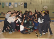 Group Crazy at Marie Clarac 2014 assault prevention