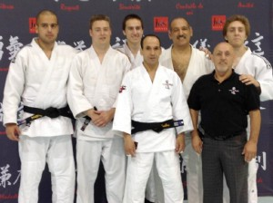 Judo black belt exam